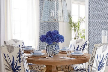 Into the blue: blue dining room inspiration