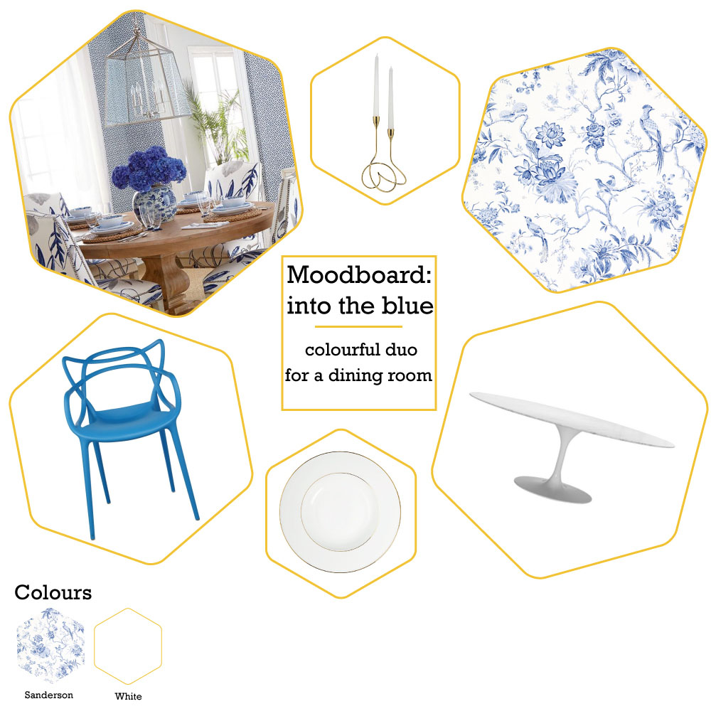 Moodboard: into the blue