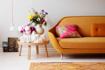 5 colourful sofas to choose from
