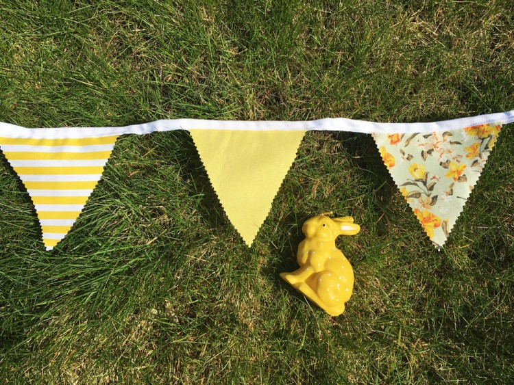 How to: create vintage bunting