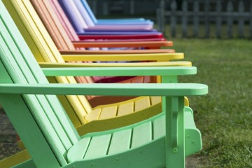 10 colourful outdoor ideas
