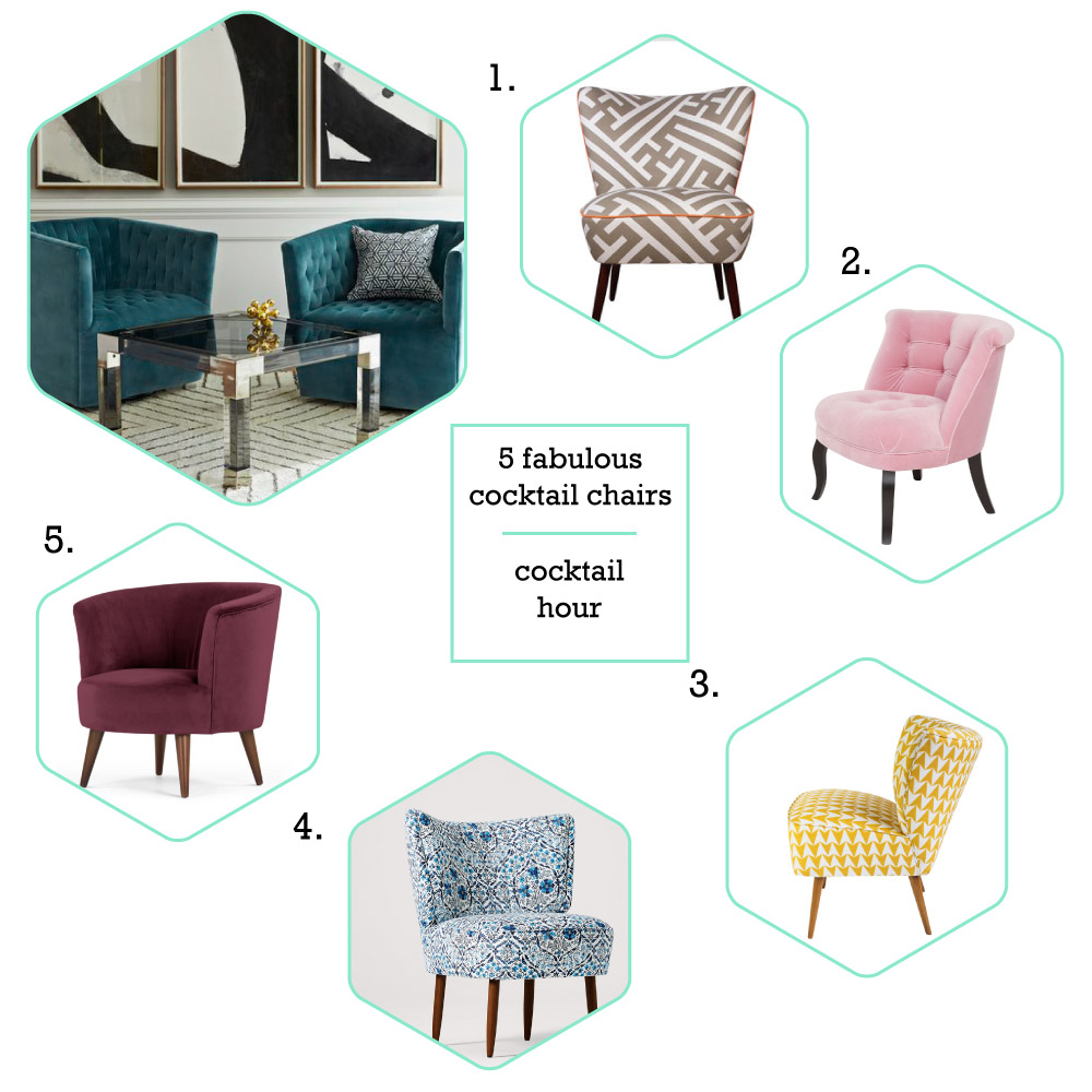 5 fabulous cocktail chairs