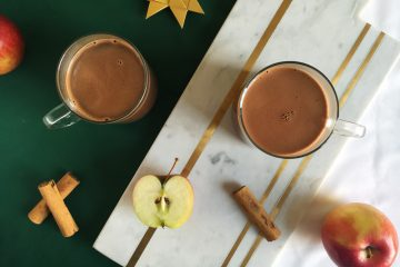 Dark Apple Spice Hot Chocolate