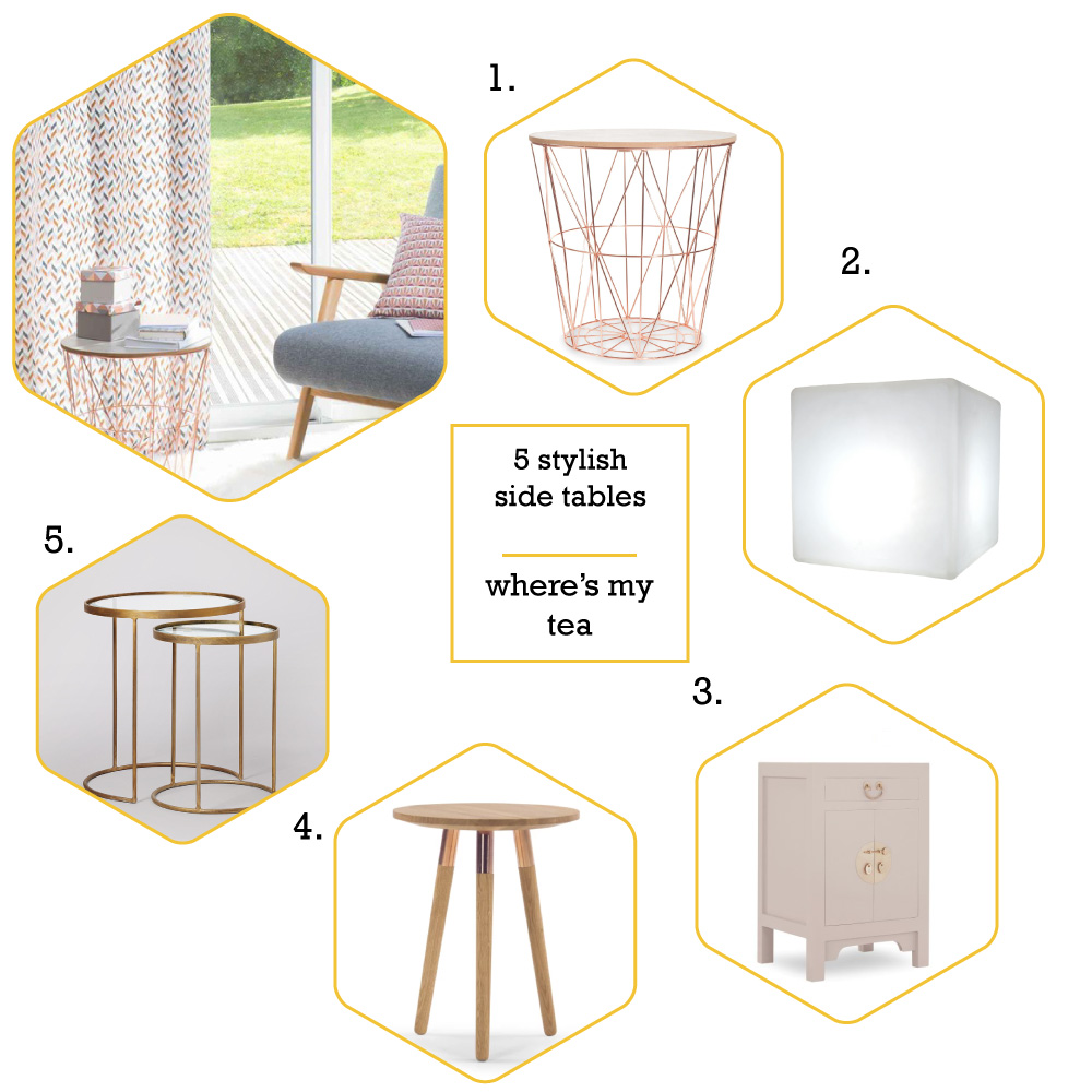 5 stylish side tables