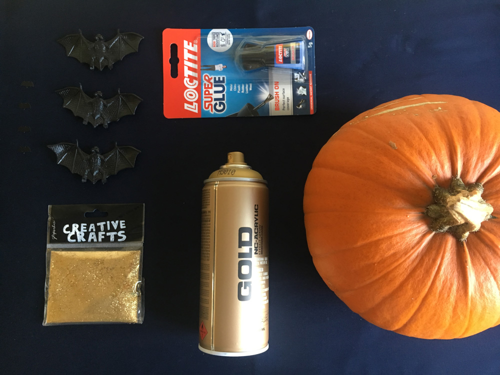 no carve pumpkin things you need
