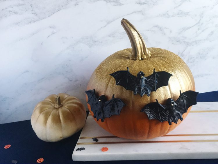 How to: make an easy no carve pumpkin